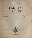 Trinity Tablet, December 20, 1893 Advertisements