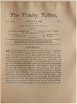 Trinity Tablet, February 1, 1894