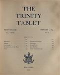 Trinity Tablet, February 1, 1894 Advertisements