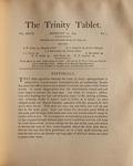 Trinity Tablet, February 24, 1894