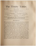 Trinity Tablet, May 26, 1894