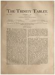 Trinity Tablet, October 5, 1892