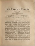 Trinity Tablet, October 22, 1892