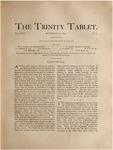 Trinity Tablet, November 12, 1892