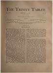 Trinity Tablet, February 25, 1893