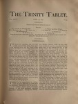Trinity Tablet, April 13, 1893