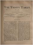 Trinity Tablet, May 13, 1893