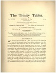 Trinity Tablet, October 26, 1894