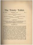 Trinity Tablet, December 5, 1894