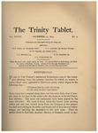 Trinity Tablet, December 19, 1894