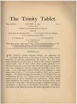 Trinity Tablet, January 23, 1895
