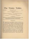 Trinity Tablet, February 16, 1895