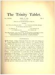 Trinity Tablet, April 16, 1895