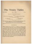 Trinity Tablet, May 11, 1895