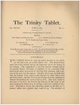 Trinity Tablet, June 8, 1895