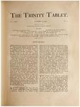 Trinity Tablet, October 25, 1890