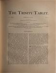 Trinity Tablet, February 28, 1891