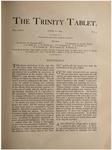 Trinity Tablet, April 11, 1891
