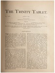 Trinity Tablet, June 6, 1891