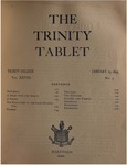 Trinity Tablet, January 23, 1895 (Advertisements)