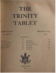 Trinity Tablet, February 16, 1895 (Advertisements)