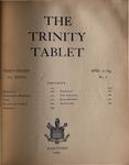 Trinity Tablet, April 16, 1895 (Advertisements)