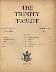 Trinity Tablet, October 26, 1895