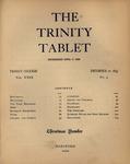Trinity Tablet, December 21, 1895