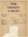 Trinity Tablet, November 16, 1895