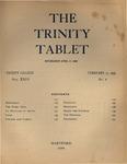 Trinity Tablet, February 17, 1896