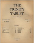Trinity Tablet, March 28, 1896