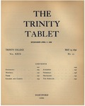 Trinity Tablet, May 19, 1896