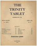 Trinity Tablet, June 23, 1896
