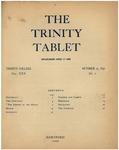 Trinity Tablet, October 15, 1896 Advertisements