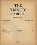 Trinity Tablet, November 5, 1896 Advertisements