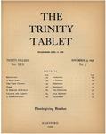 Trinity Tablet, November 25, 1896 Advertisements