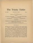 Trinity Tablet, December 17, 1896