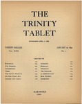 Trinity Tablet, January 29, 1897 Advertisements