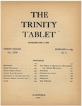 Trinity Tablet, February 20, 1897 Advertisements