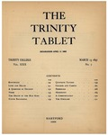 Trinity Tablet, March 13, 1896 Advertisements
