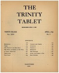 Trinity Tablet, April 3, 1897 Advertisements