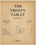 Trinity Tablet, April 22, 1897 Advertisements