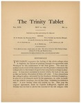 Trinity Tablet, May 21, 1897