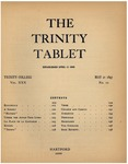 Trinity Tablet, May 21, 1897 Advertisements