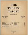 Trinity Tablet, June 12, 1897 Advertisements