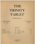 Trinity Tablet, June 22, 1897 Advertisements