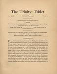 Trinity Tablet, October 16, 1897