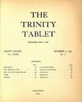 Trinity Tablet, November 12, 1897 Advertisements