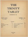 Trinity Tablet, December 21, 1897 Advertisements