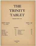 Trinity Tablet, March 10, 1898 Advertisements
